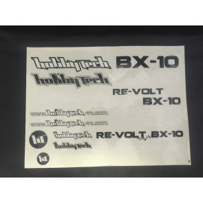 Hobbytech Revolt Decal Set STICKREV.BX10