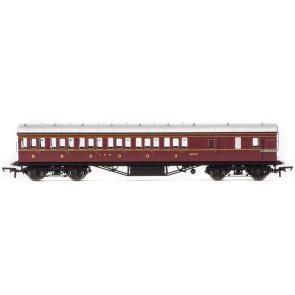 Hornby LMS Period III Non-Corridor 57 Third Class Brake Coach 20754 - Era 3 r4677b