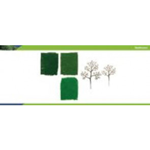 Hornby Tree Starter Kit Deciduous 75-100mm (16) r8943