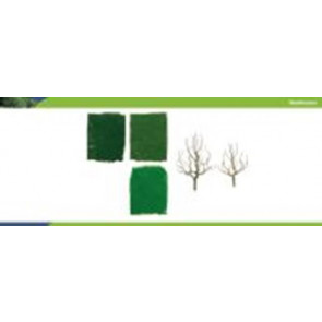 Hornby Pro Tree Kit Deciduous Tree 63-100mm (10) r8945