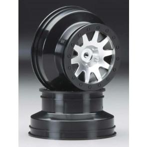 Hpi Wheel Mk.10 Wheel Matte Chrome 4.5Mm Offst Blitz(2 103331