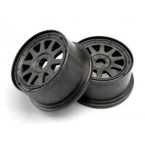 Hpi Wheel Tr-10 Wheel Gunmetal (120X 65M/-10Mm Offset) 104976