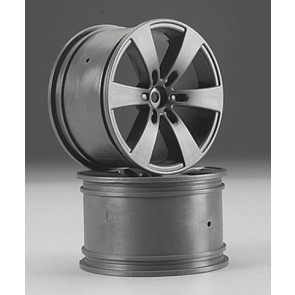 Hpi Wheel Q6 Wheel Gunmetal Savage (2) 3018