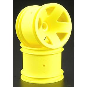 Hpi Wheel F5 Truck Wheel Front Yellow (2) 3044