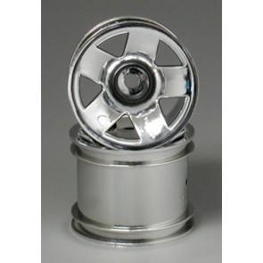 Hpi Wheel F5 Truck Wheel Chrome (2) 3047