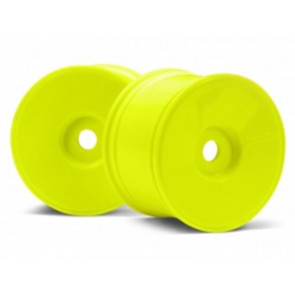 Hpi Wheel Dish Wheel Yellow (83X56Mm)(2) 3153