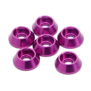 Hpi Washer Cone 3X10X3.5Mm (6) Purple Z845
