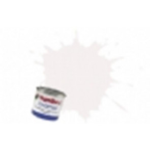Humbrol Enamel 130 White Satin Finish 14ml Tinlet humb130e