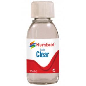 Humbrol Clear - Satin - 125ml 7435