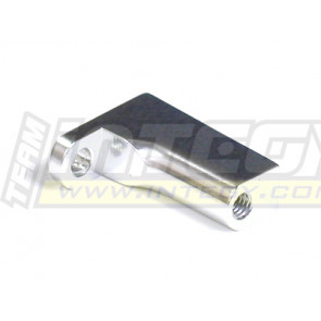Integy alloy rear body & pin mount for traxxas revo silver t3106