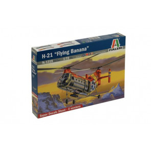 Italeri 1/72 H-21 Flying Banana Plastic Model Kit 1315