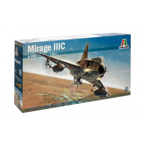 Italeri 1/32 Mirage IIIC Plastic Model Kit 2505