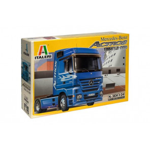 Italeri 1/24 Mercedes-Benz Actros 1854 LS (V8) Plastic Model Kit 3824