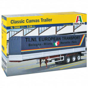 Italeri 1/24 Classic Canvas Trailer 3908