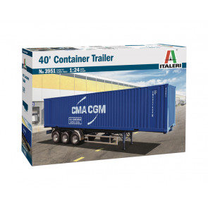 Italeri 1/24 40Ft Container Trailer 3951