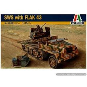 Italeri 1/35 G Veh SWS With Flak 43 6480