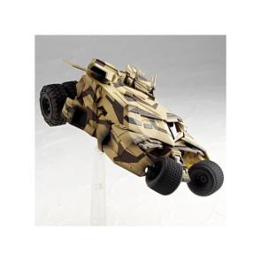 Kaiyodo SCI-FI Revoltech 043EX Batmobile Tumbler Camouflage 4050