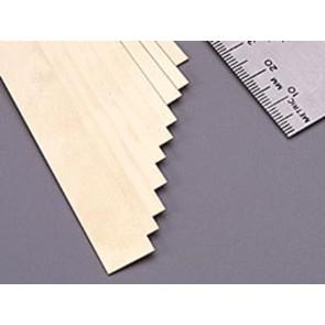 K&S Brass Strips .025x1/2Inch (1) 8236