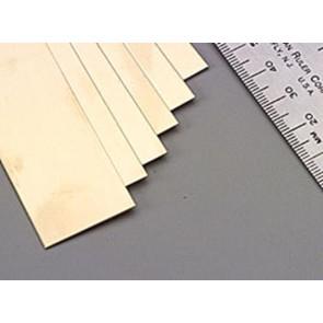 K&S Brass Strips .025x1Inch (1) 8237