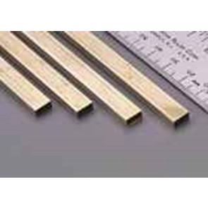 K&S Rectangle Brass Tube 1/8x1/4 90cm Long (1) 264F