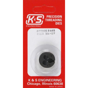 K&S Thread Die Metric 4mm 0463