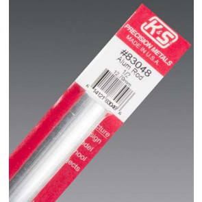 K&S Aluminum Rod 1/2inch (1) 83048