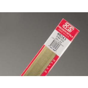 K&S Brass Strips .032x3/4Inch (1) 8243