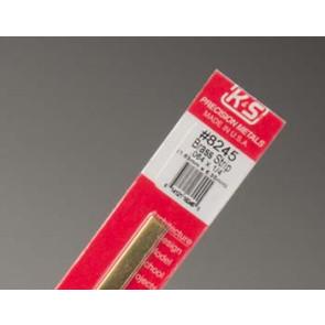 K&S Brass Strips .064x1/4Inch (1) 8245