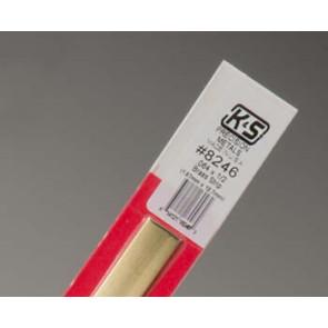 K&S Brass Strips .064x1/2Inch 1.57x12.07mm (1) 8246