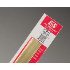 K&S Brass Strips .064x3/4Inch 1.57x19.05mm (1) 8247