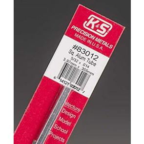 K&S Square Aluminum Tube 5/32x.014inch (1pc) 83012