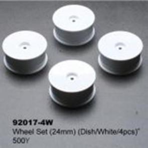 Kyosho Wheel Set (24mm) (4) 92017-4w