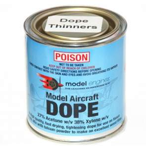 Model Engines AIRCRAFT DOPE Thinners 250 MIL me655
