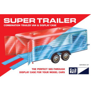 Mpc 1/25 Super Display Case Trailer 909