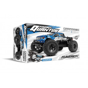 Maverick 1/10 Quantum MT 4WD Brushed Truck RTR Blue/Black 150100