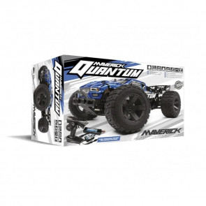 Maverick 1/10 Quantum XT 4wd Brushed Truggy (Blue/Black) 150105