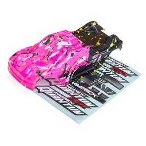 Maverick 1/10 Quantum Xt Body (Pink/Yellow) mv150177