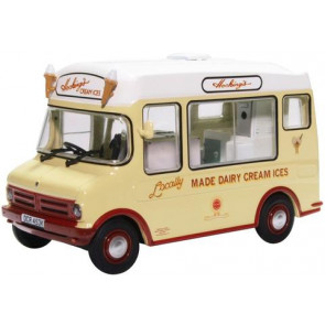 Oxford 1/43 Bedford Cf Ice Cream Van/Morrison Hockings 43Cf002