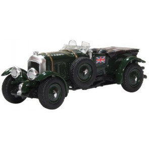 Oxford 1/76 Bentley Blower British Racing Green 76Bb003