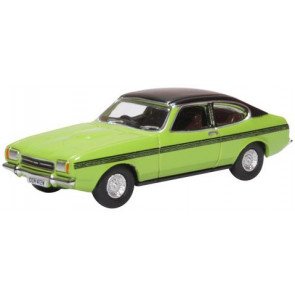 Oxford 1/76 Ford Capri Mkii Lime Green 76Cpr001
