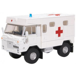 Oxford 1/76 Land Rover Fc Ambulance 24 Field Ambulance Bosnia 76Lrfca003