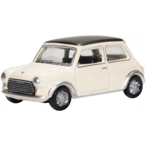 Oxford 1/76 Mini Cooper S Mkii Snowberry White/Black 76Mcs004