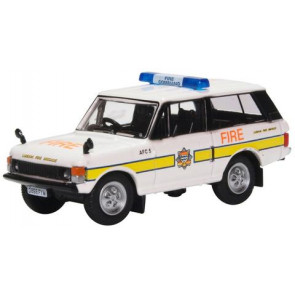 Oxford 1/76 Range Rover Classic London Fire Brigade 76Rcl004