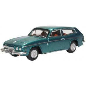Oxford 1/76 Reliant Scimitar Tudor Green Metallic 76Rs005