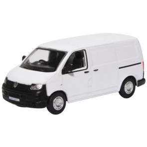Oxford 1/76 Vw T5 Van White 76T5V002