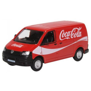 Oxford 1/76 Vw T5 Van Coca Cola 76T5V003Cc