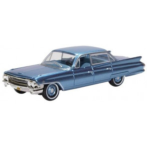 Oxford 1/87 Cadilac Sedan Deville 1961 Nautilus Blue 87Csd61003