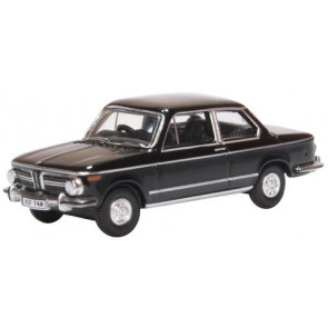 Oxford 1/76 Bmw 2002 Black 76Bm02004