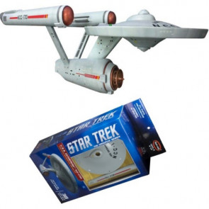 Polar Lights 1/1000 Star Trek Tos Uss Enterprise Snap Kit 936