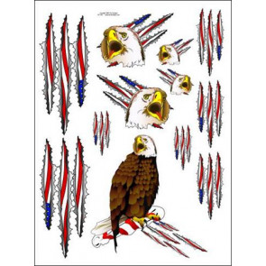 Racers Edge EAGLE Decal Sheet sic025